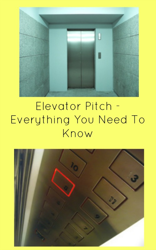 elevator pitch - everything you need to know
