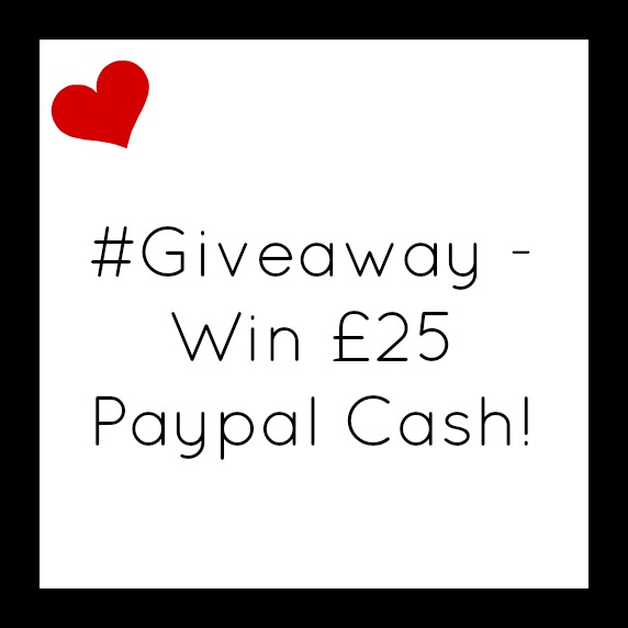 #Giveaway - Win £25 Paypal Cash