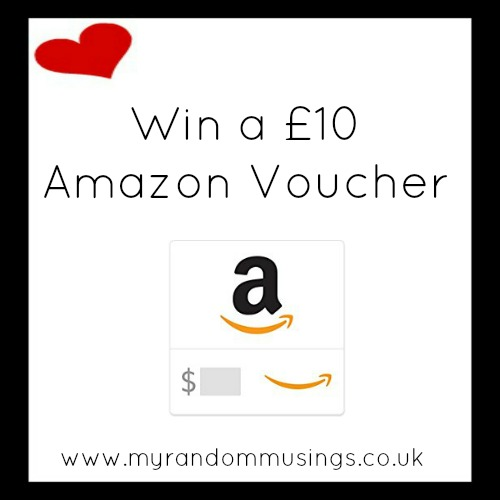 #Giveaway: £10 Amazon Voucher (Plus a Free Book for Every Entry)