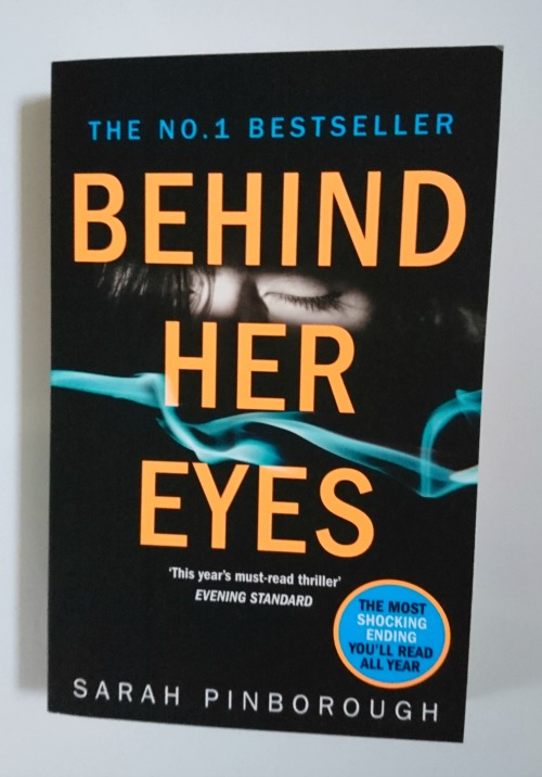Behind Her Eyes by Sarah Pinborough book cover