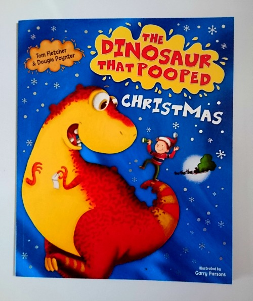 The Dinosaur That Pooped Christmas by Tom Fletcher and Dougie Poynter book cover