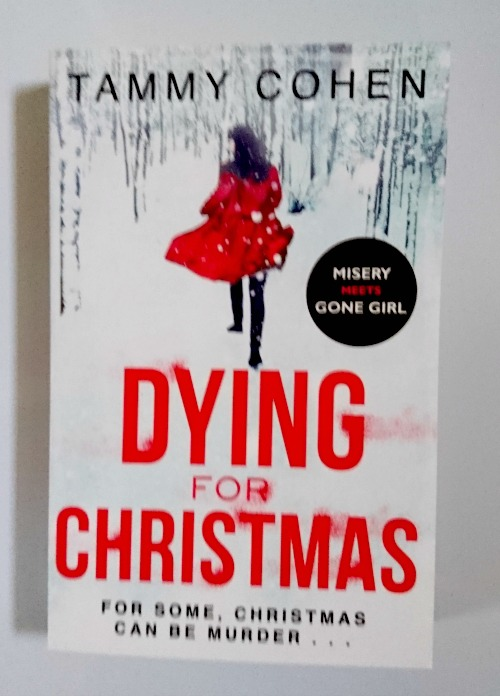 Dying for Christmas by Tammy Cohen book cover