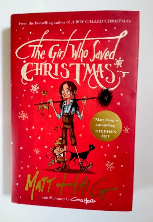 The Girl Who Saved Christmas by Matt Haig book cover