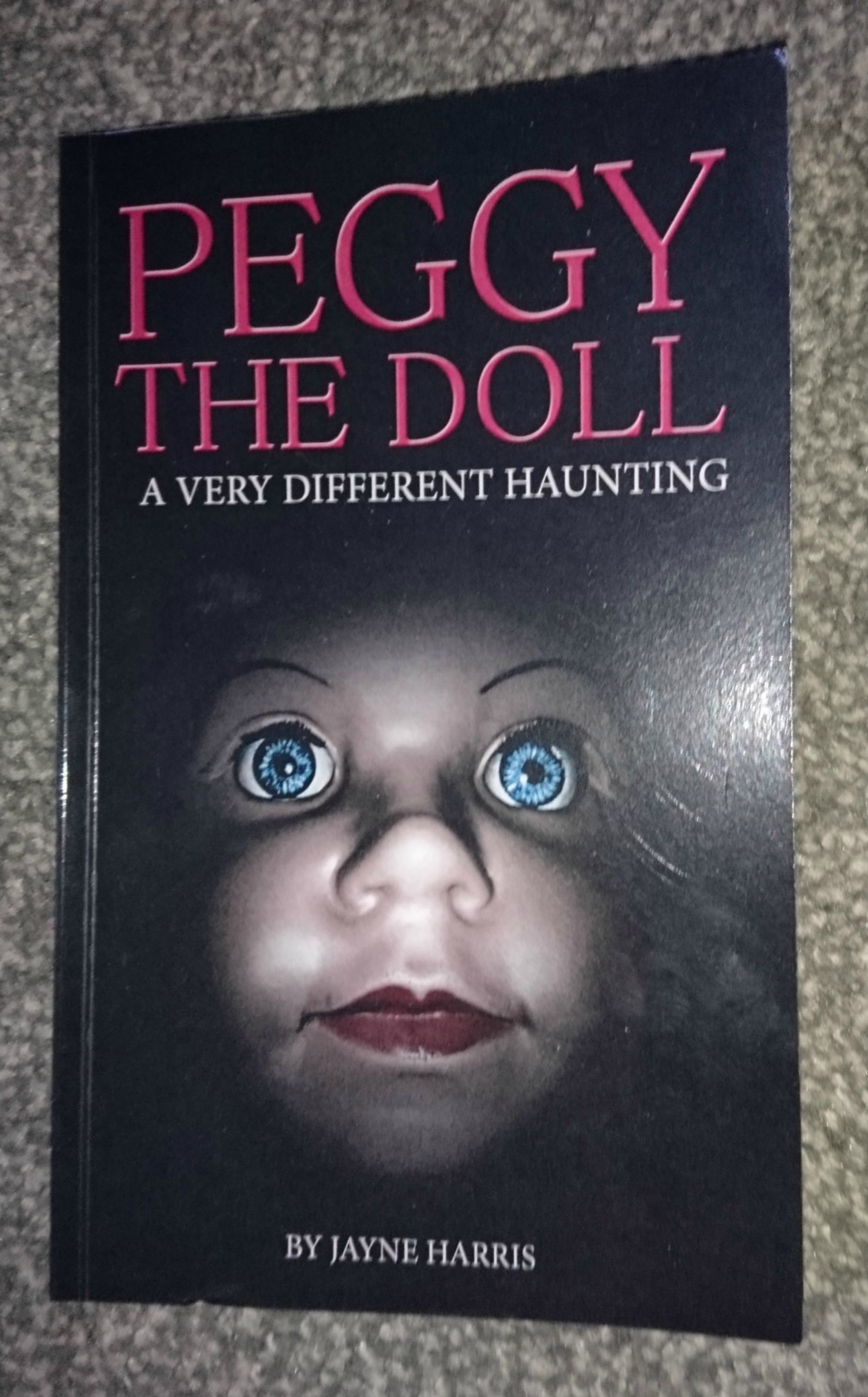 Peggy the Doll by Jayne Harris book cover