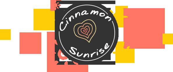 Logo for the Cinnamon Sunrise blog