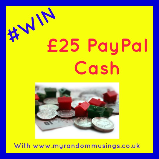 Win £25 PayPal cash