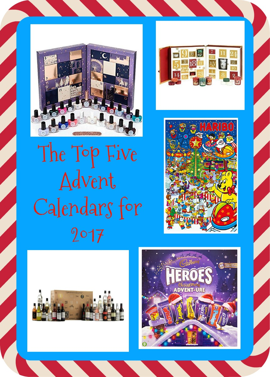 The Top Five Advent Calendars for 2017 feature image