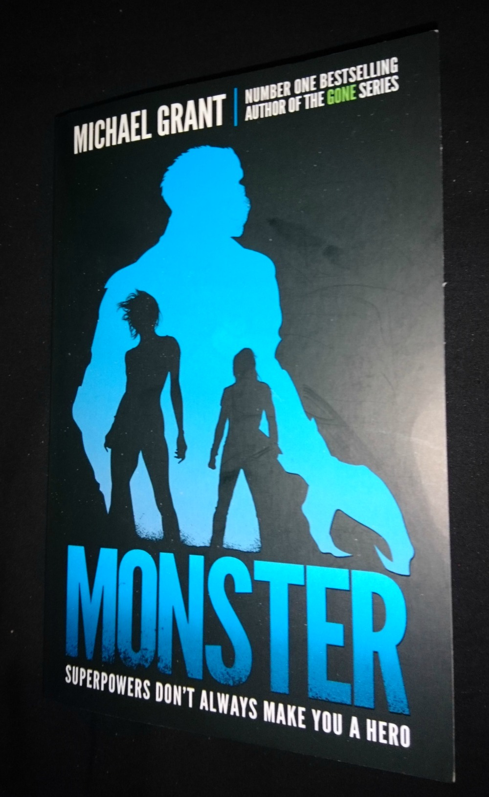 Monster by Michael Grant book cover