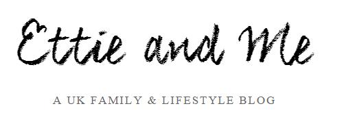 Ettie and Me blog logo