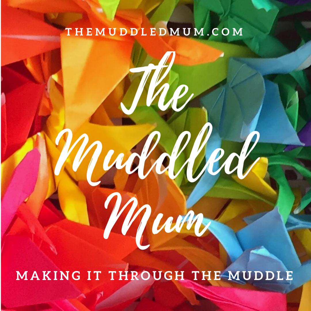 The Muddled Mum blog logo