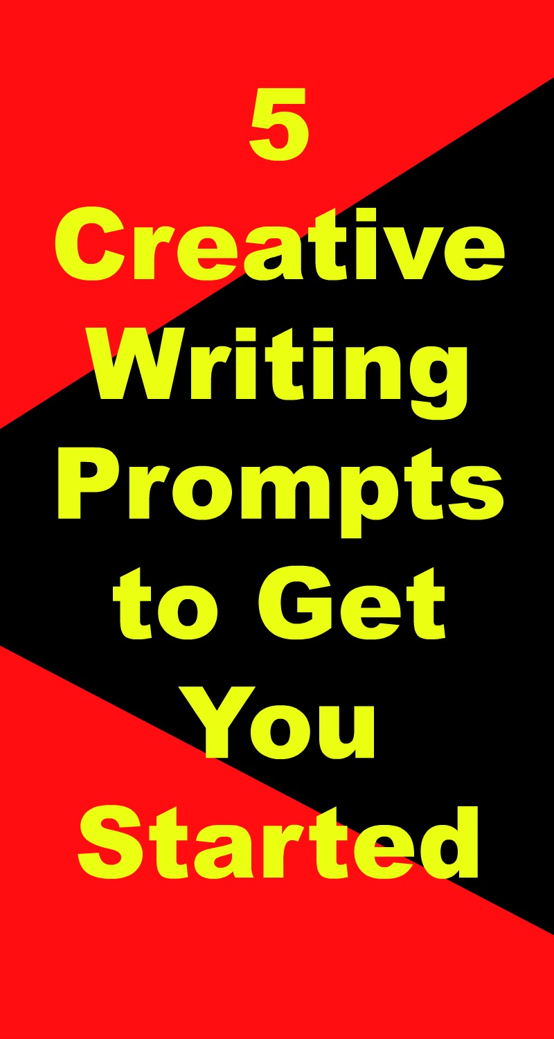 5 creative writing prompts to get you started feature image
