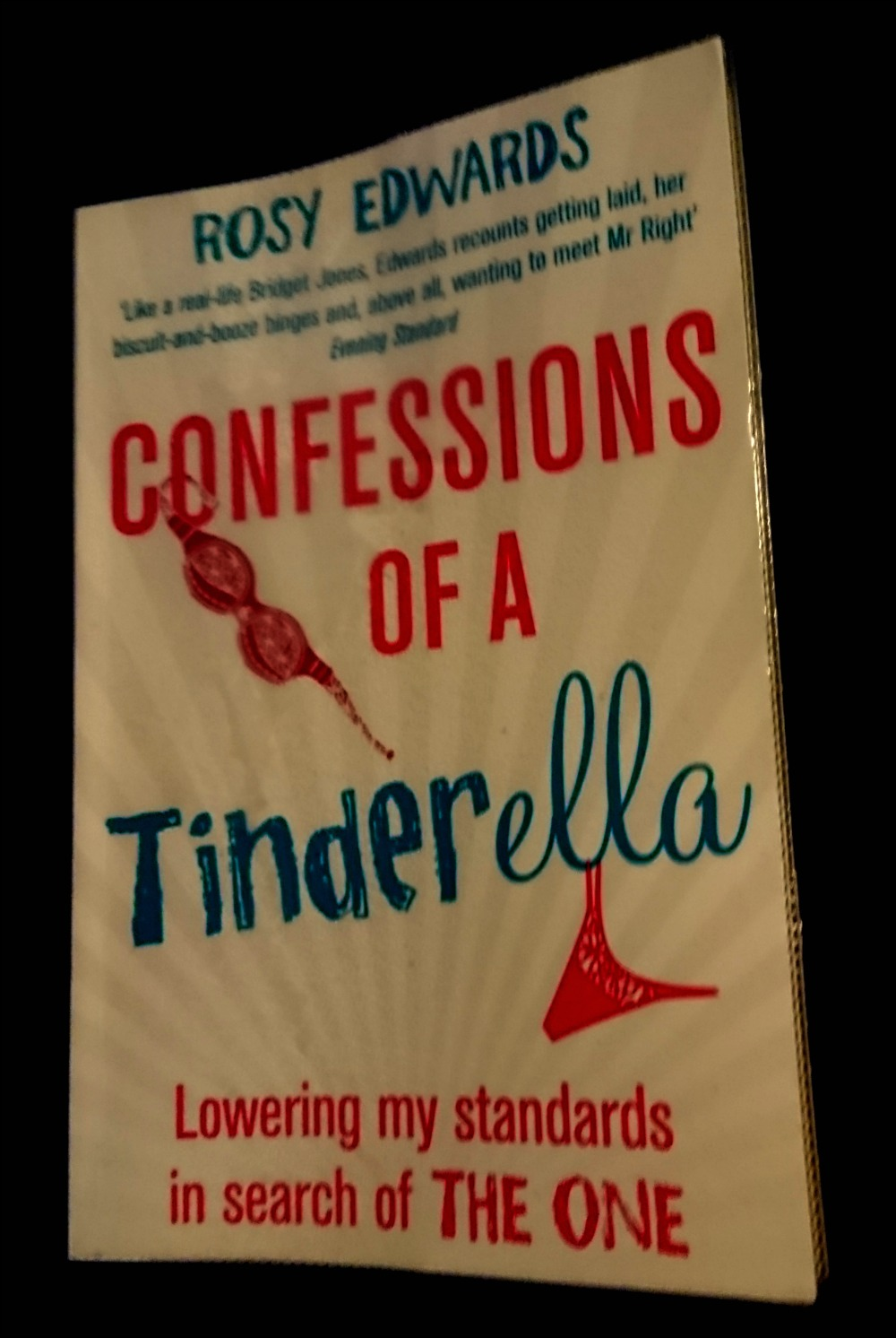 Confessions of a Tinderella by Rosy Edwards book cover