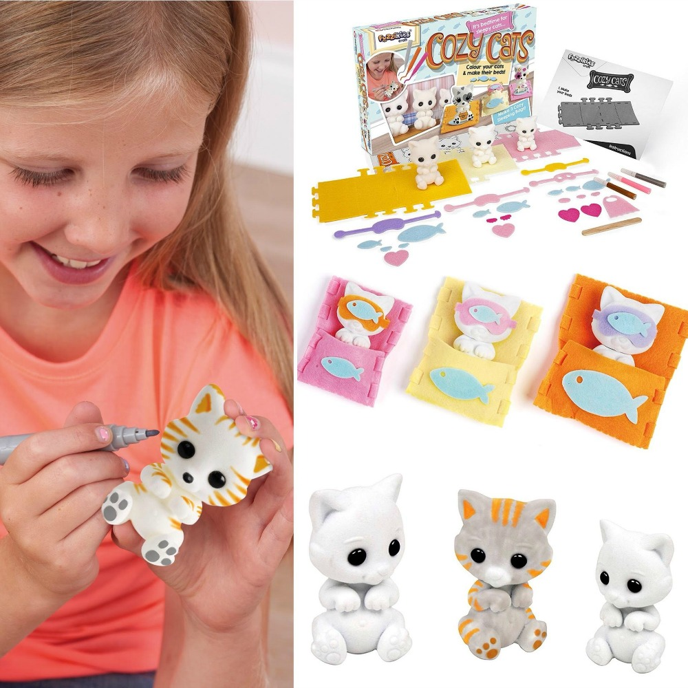 Fuzzikins Cozy Cats set